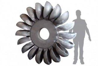 3D打印将不可能变为现实,看3.2吨重的叶轮如何轻