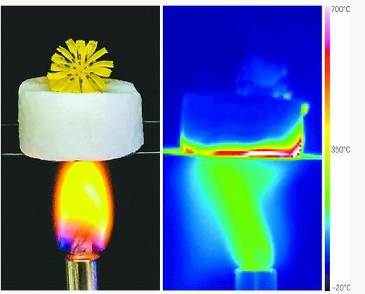 超级隔热陶瓷气凝胶可用于航天领域