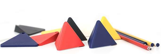 姿势百变的三角灯,可以成功点亮整个夜晚