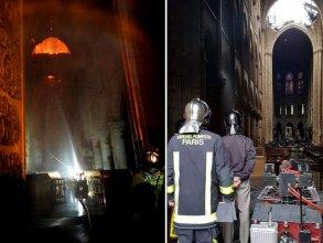 Controlled Robot参与救援巴黎圣母院大火