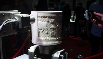 景德镇瓷博会现3D打印雕刻技术