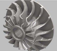 长春3d打印公司:逆向工程在水泵叶轮测量和加工