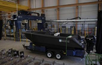 世界最大3D打印船舶加工完成,并且可以使用【