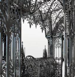 叹为观止的激光切割金属雕塑 复杂图案一机搞定