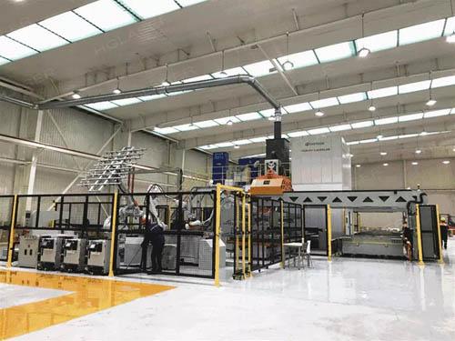 华工激光设备在汽车热成型件中的应用