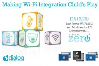 Dialog半导体推出Wi-Fi网络SoC芯片DA16200,提供突破
