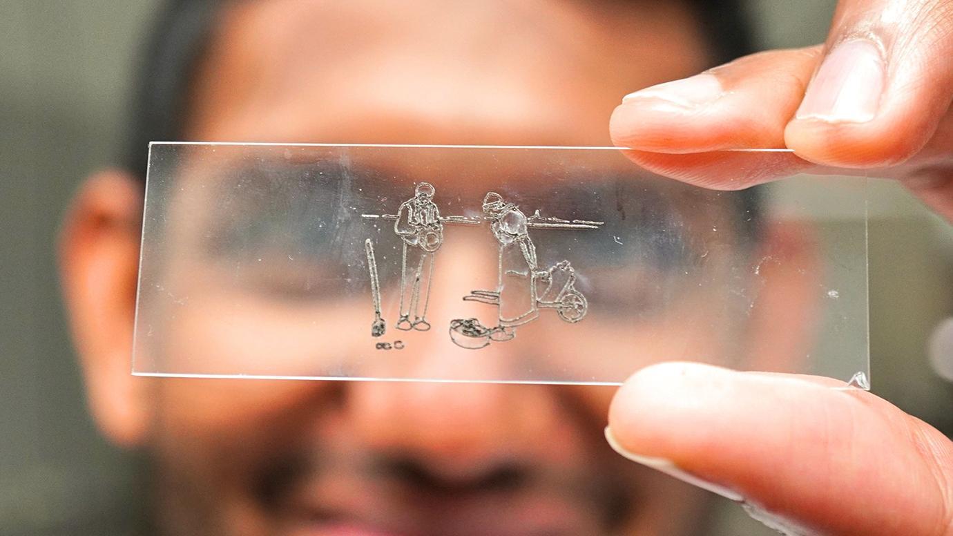 激光切割机可能会掀起生物电子的新浪潮