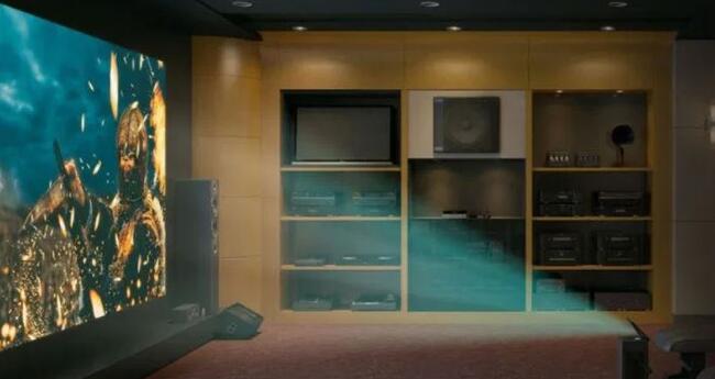 德国IFA LG推出300英寸的激光投影仪