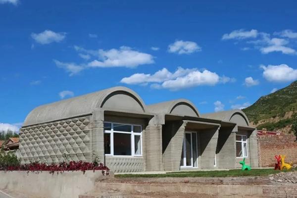 两室一厅106平,清华大学徐卫国教授团队3D打印混凝土农家宅